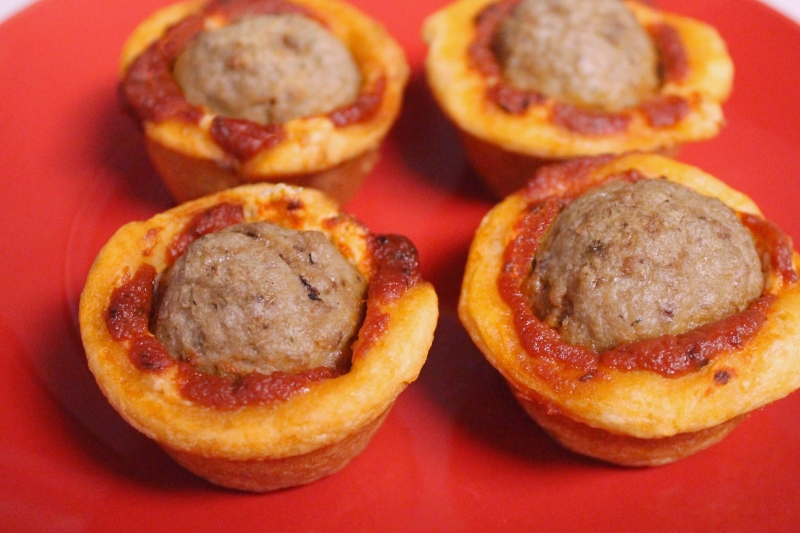 Meatball Sub Cups (ungarnished)