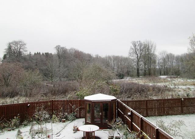 snow in Fife