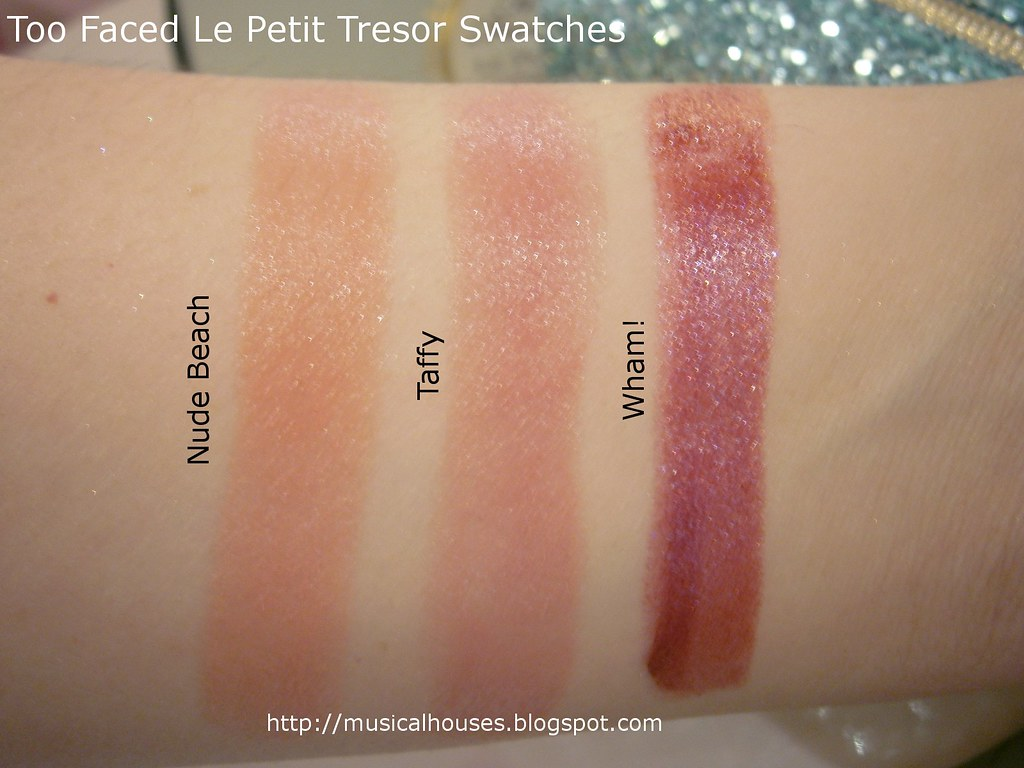Too Faced Le Petit Tresor Swatches