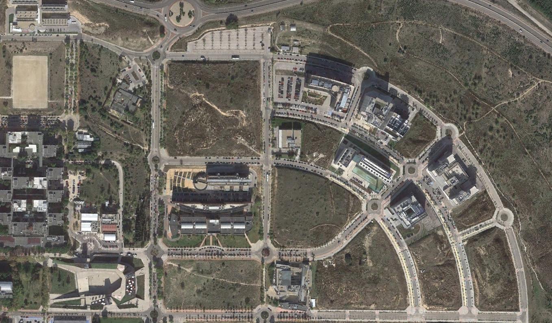 universidad autónoma de madrid, madrid, rotondismo universitario, después, urbanismo, planeamiento, urbano, desastre, urbanístico, construcción, rotondas, carretera