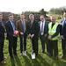 Sod cutting for Roughan 3G pitch, Augher, 02 December 2015