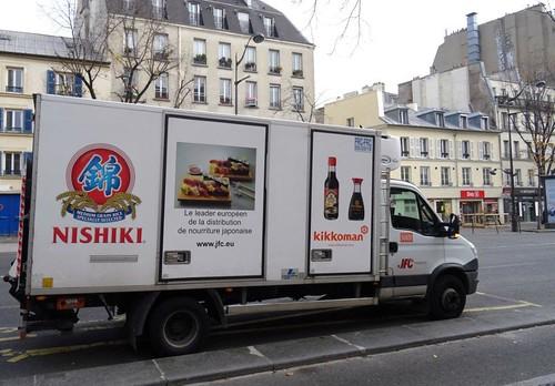 Paris  AD Van Truck  Nishiki