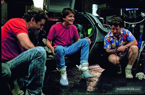 Back to the Future - Part II - backstage