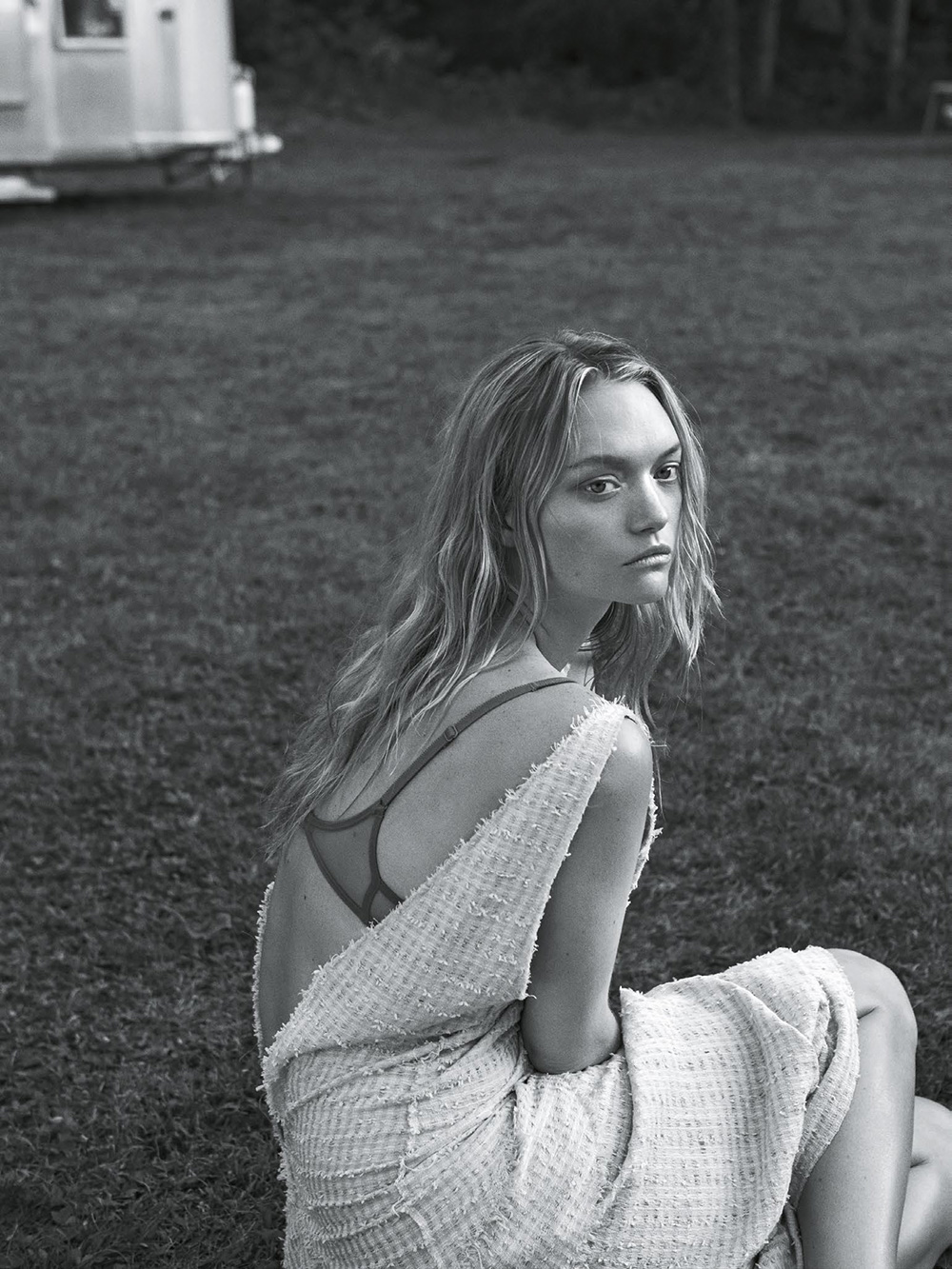 Gemma Ward by Lachlan Bailey for Vogue Australia January 2016 Issue