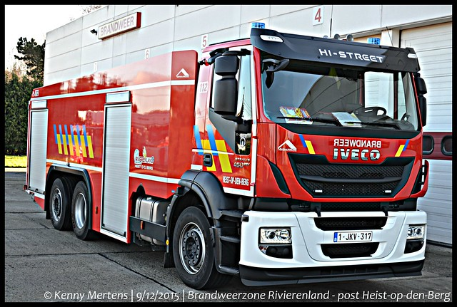 Brandweerzone Rivierenland - post Heist-op-den-Berg - Tankwagen