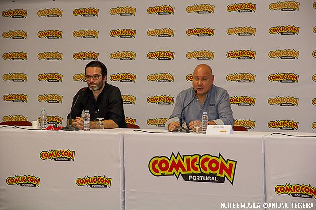 Tiago R Santos e Leonel Vieira - Comic Con Portugal '15