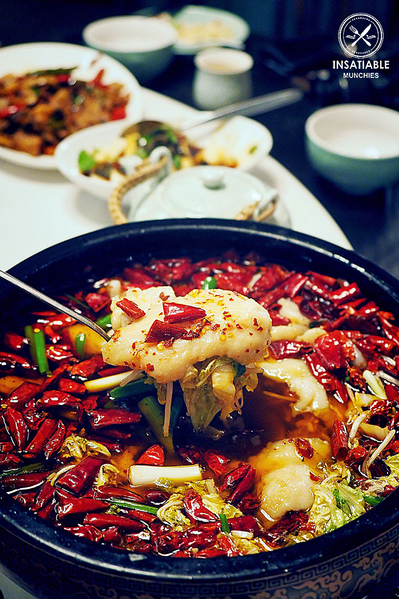 Fish Fillet in Spicy Chili Oil, Taste of Shanghai, World Square. Sydney Food Blog Review
