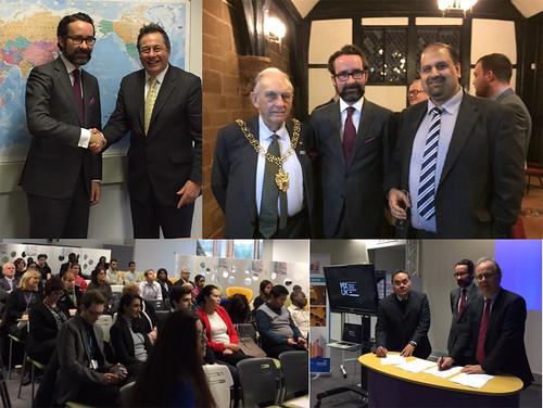 Firman acuerdo de cooperación COLEF y Universidad de Coventry
