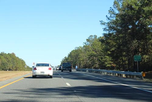 Florida I10eb Holmes Walton county border