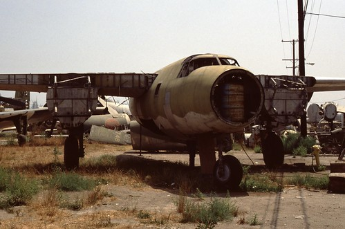 Martin B-26 Maradeur at the Planes of Fame Museum, 1980