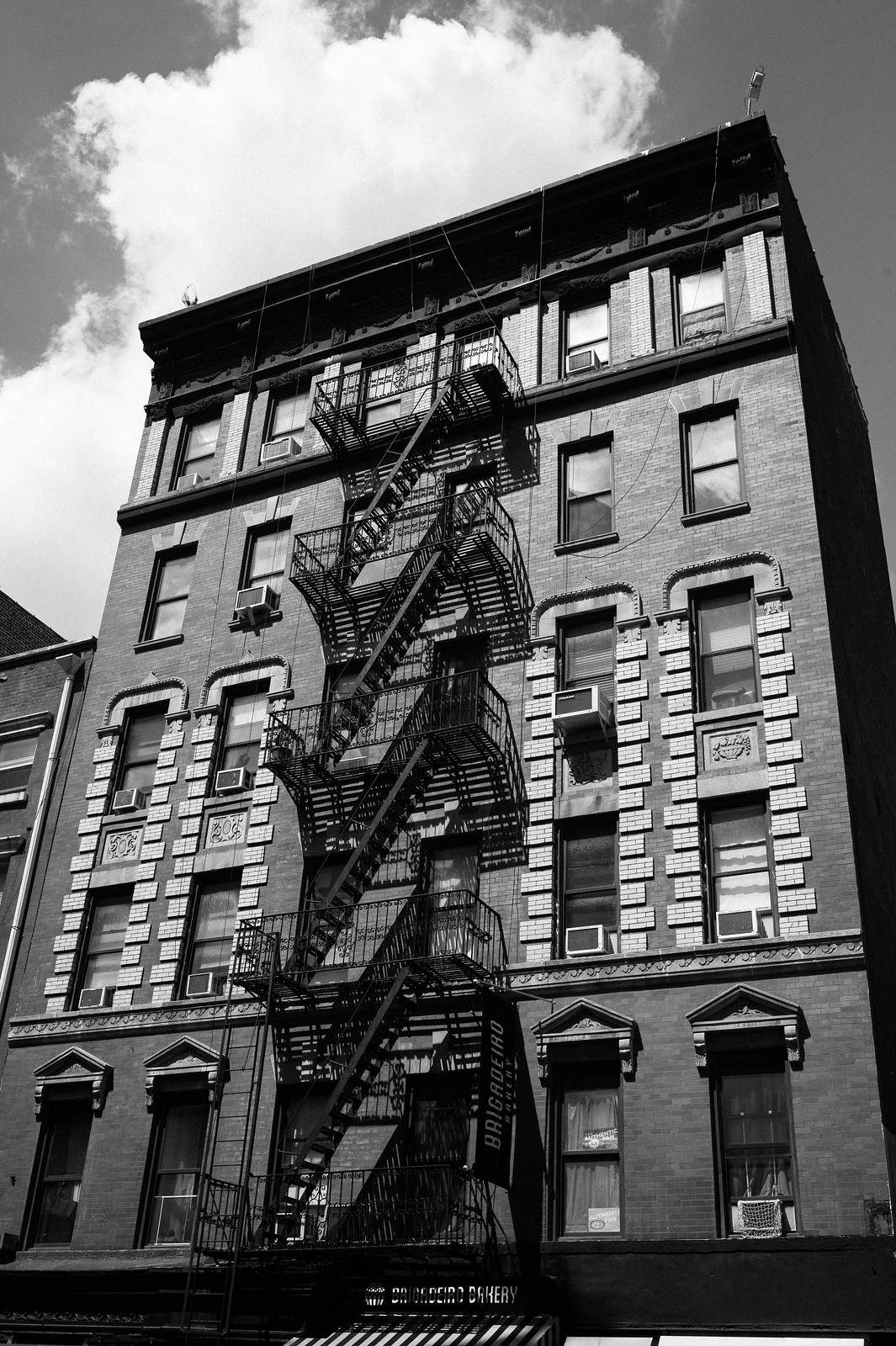 "Image titled ""Fire Escapes #3, NYC."""