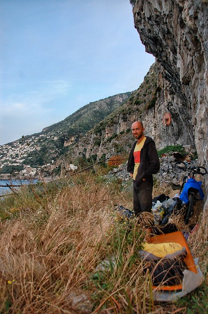 Wild camp along the Amalfi Coast