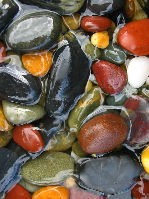 charlesworth bay pebbles