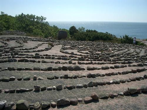 Labyrint på Blå jungfrun