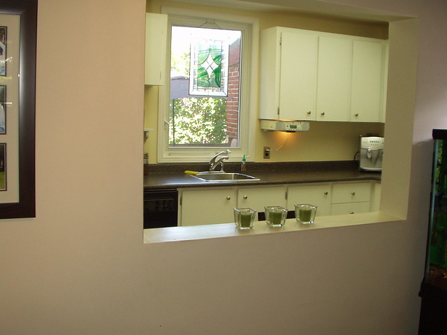 Looking Into Kitchen From Dining Room Pass Through Window Flickr Photo Sharing