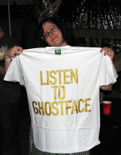 Listen to Ghostface