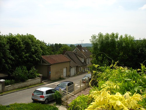 The view from the terrace of Art Study Giverny
