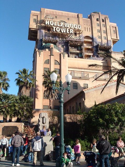 Hollywood Tower Of Terror Disneyland California Great