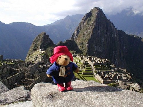 Paddington at Machu Picchu, Peru
