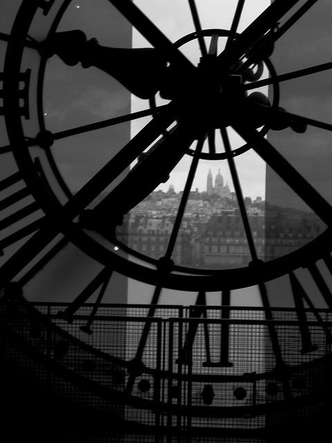 sacré cœur de la musée d'orsay horloge