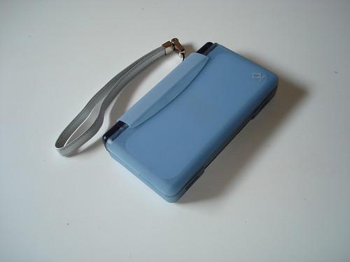Blue Capdase DS Lite Silicone Skin - Closed