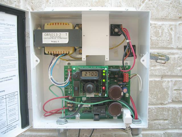 goldline aqua rite salt system chlorine generator flickr
