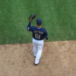 Trevor Hoffman Warming Up