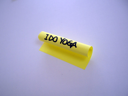 Yoga Boast-it Note