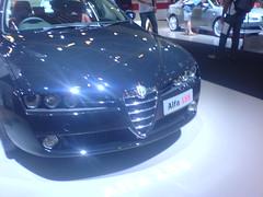 automobile(1.0), automotive exterior(1.0), alfa romeo(1.0), wheel(1.0), vehicle(1.0), automotive design(1.0), alfa romeo 159(1.0), alfa romeo brera(1.0), bumper(1.0), land vehicle(1.0), luxury vehicle(1.0),
