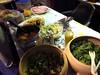 The feast Jackie prepared by Adriana Lukas