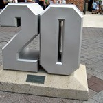 Baltimore - Camden Yards: Retired Numbers - Frank Robinson (#20)