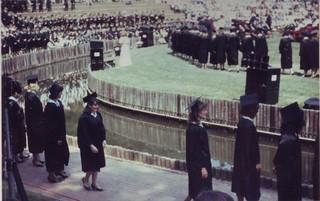 Meredith College Amphitheatre - graduation day