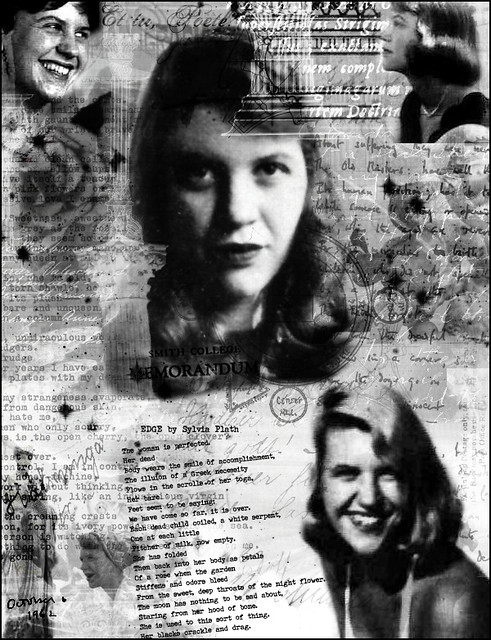 sylvia plath vs ted hughes Sylvia plath and ted hughes by franklin foer in 1963, the 30-year-old poet sylvia plath killed herself, placing her head on a folded cloth inside an oven and turning on the gas.
