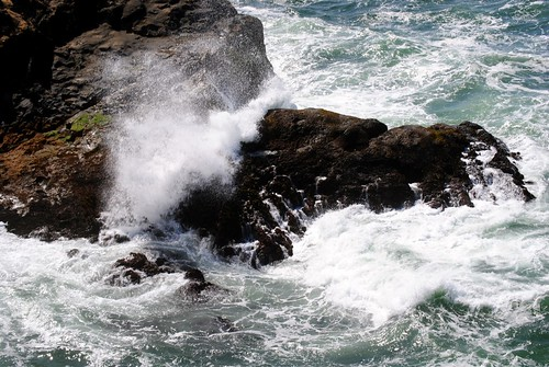 Rocky Coast Waves