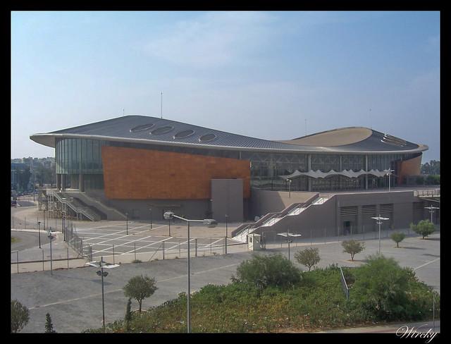 Grecia Pireo vuelo Atenas Madrid - Pabellón juegos paralímpicos 2004