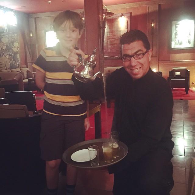 Lorenz Learns to Pour Tea