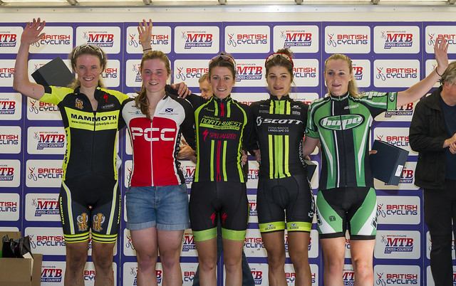 NATIONAL MTB XC SERIES 2015 RND 5 CANNOCK AUGUST 16TH ELITE WOMEN