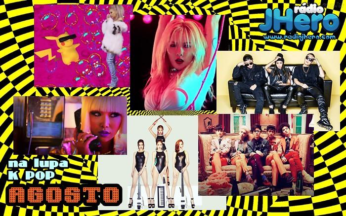 O que rolou de melhor e pior no K-Pop do mês de Agosto