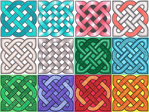 Decorating celtic knots part 2 of 2