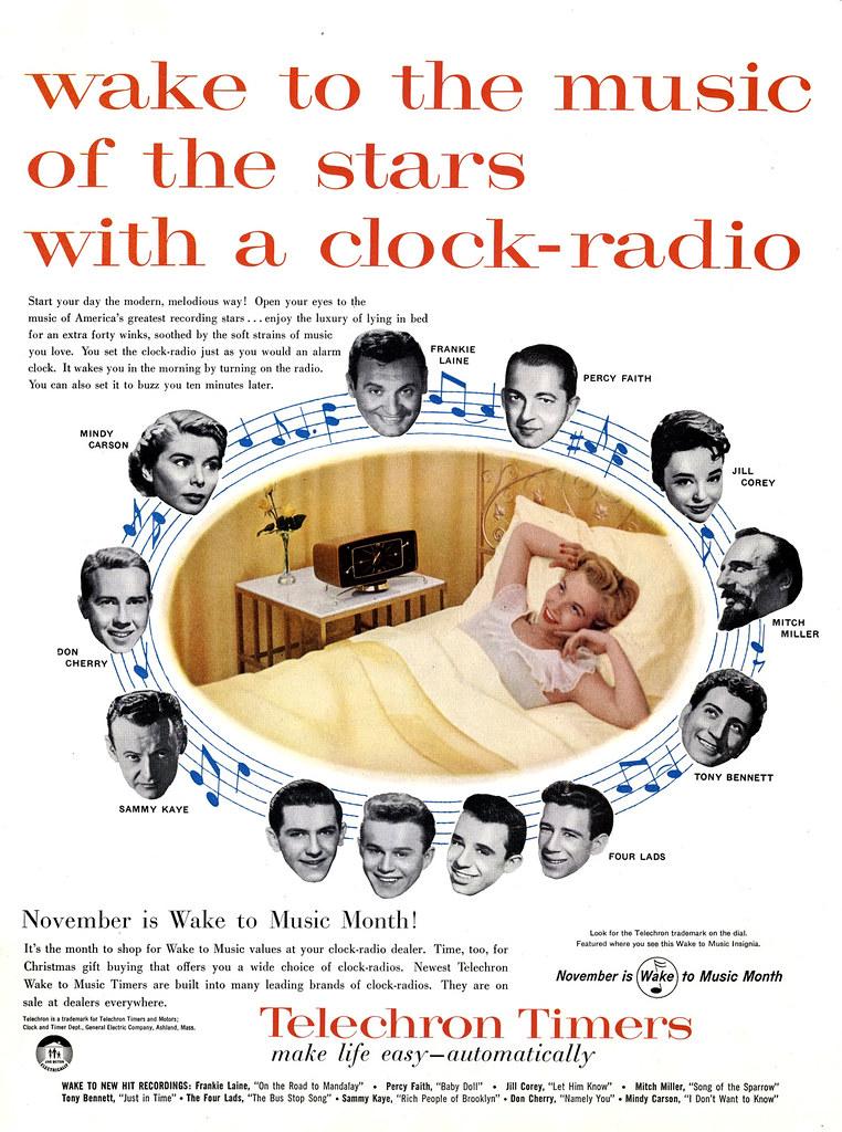 Telechron Timers - 1956