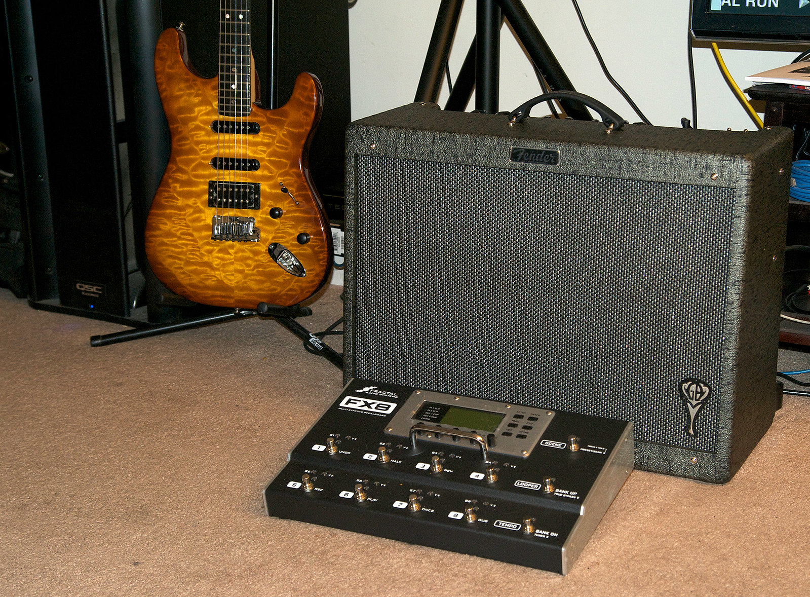 fender george benson hot rod deluxe brief review the gear page. Black Bedroom Furniture Sets. Home Design Ideas