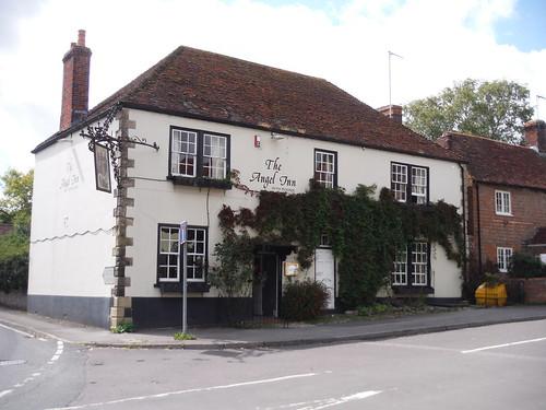 The Angel Inn. Hindon
