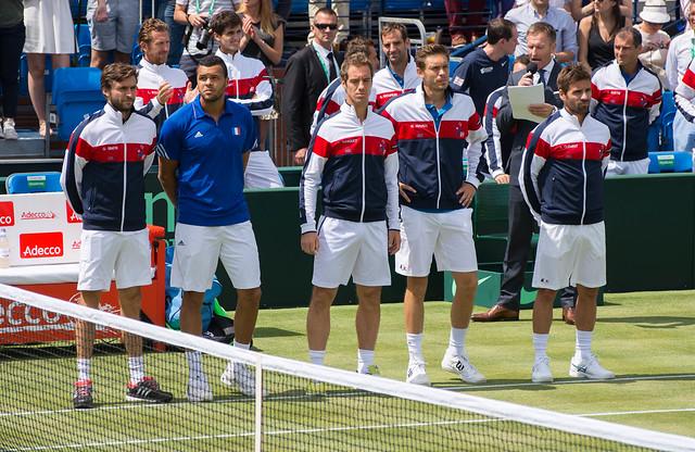 France Davis Cup team