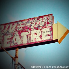 This sign used to point to good times with family and friends, now it points to an overgrown field and burned out ruins. #nikond3200 #nikontop_ #driveintheater #porterville #abc30insider #abandoned #signage #californiaabandoned