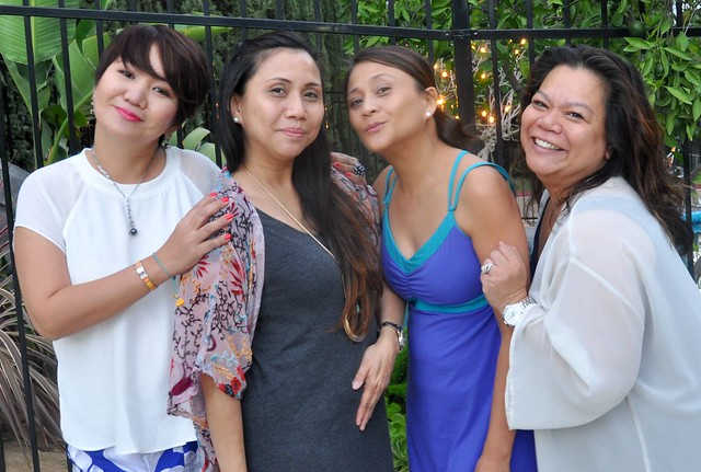 Reunion with friends in Glendora