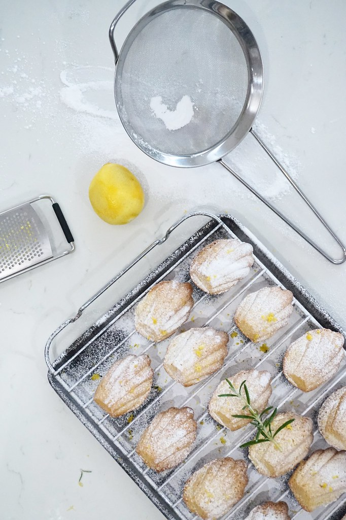 lemon madeleines baking cooking cookery blog katelouiseblog