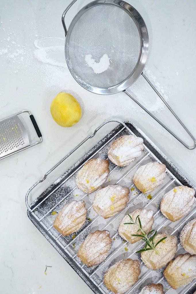 lemon madeleines baking cooking cookery blog katelouiseblog