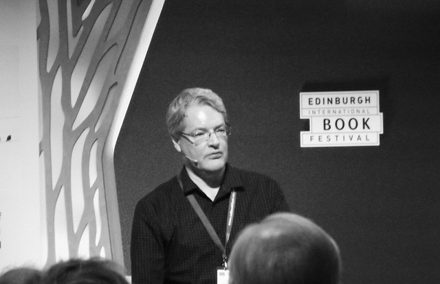 Edinburgh International Book Festival 2015 - Darryl Cunningham 01