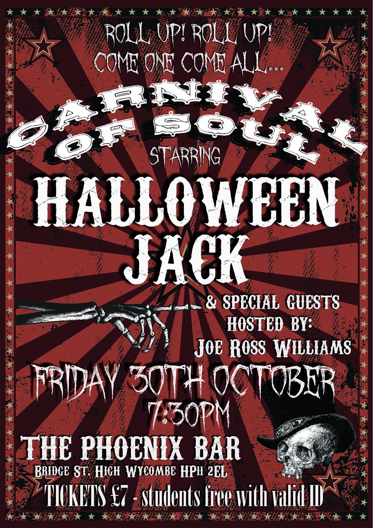 Small Halloween Jack 30th October