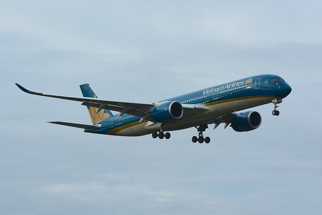Vietnam Airlines, Airbus A350-900 VN-A886 NRT
